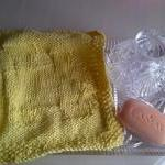 Cotton Soft Wash Cloth in L..